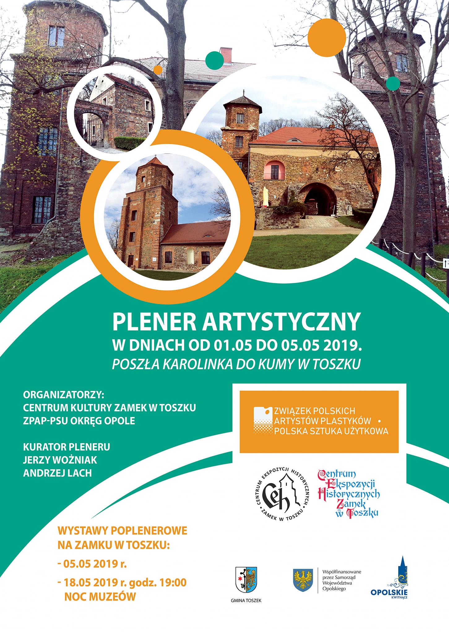Plener artystyczny w Toszku