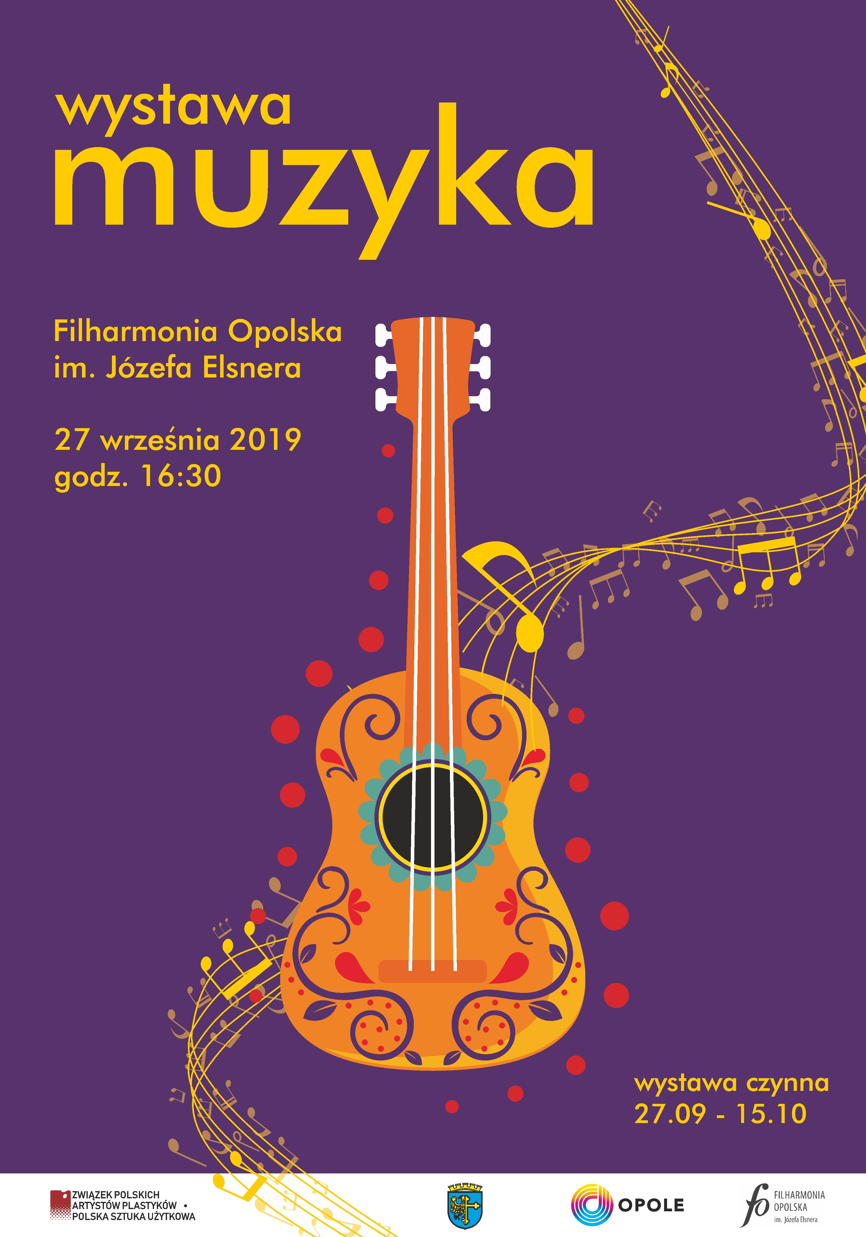 """Wystawa """"MUZYKA"""" w Filharmonii Opolskiej"""