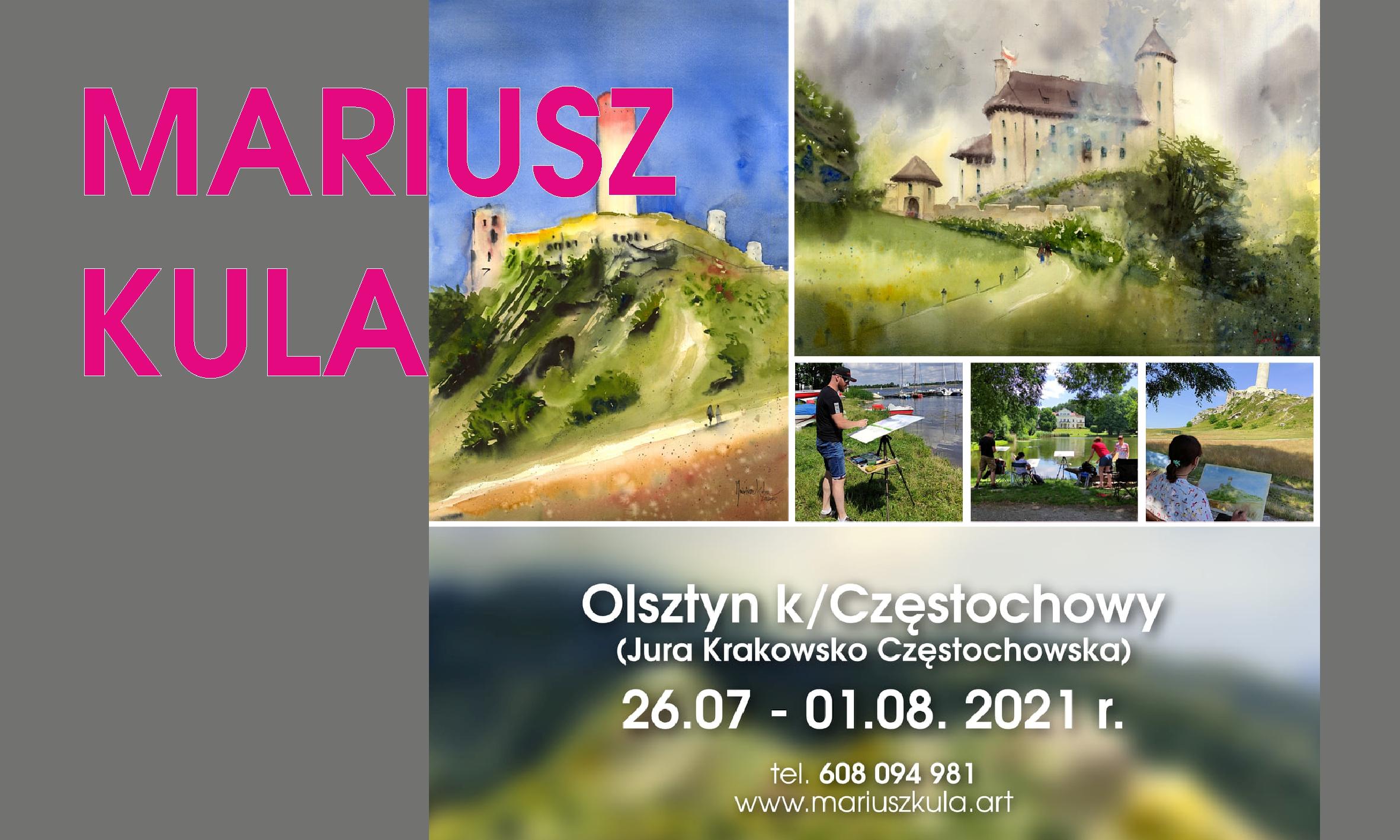 Zaproszenie na 7 dniowy Plener – Olsztyn