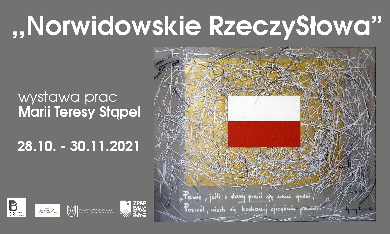 Wystawa prac Marii Teresy Stąpel